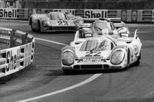 Porsche vs Ferrari at Le Mans 1971