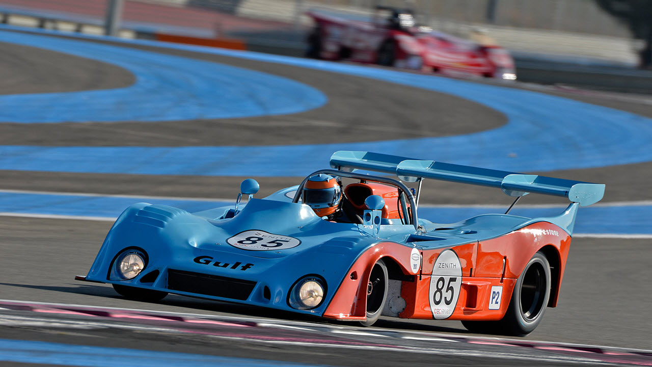 Historic racing announced for Le Castellet Motor Cup
