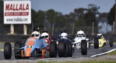 Racing at All Historic Mallala