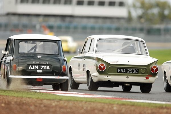 Historic racing at the HSCC Silverstone Finals