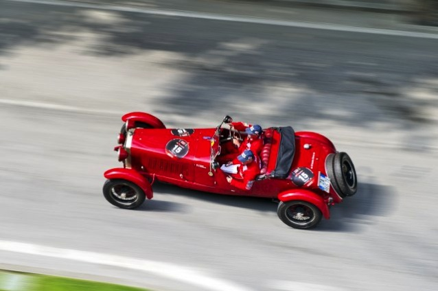 Racing on the Mille Miglia