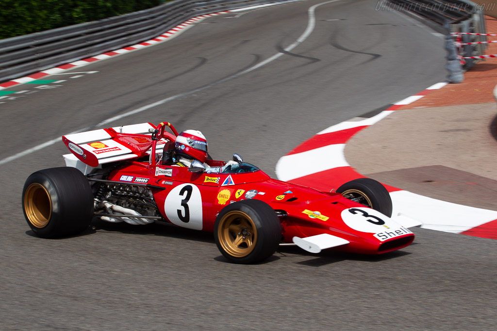 Ferrari 312 B at the Grand Prix de Monaco Historique