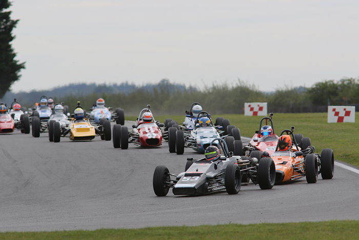 Historic Formula Fords will feature at the Jim Russell Trophy Meeting