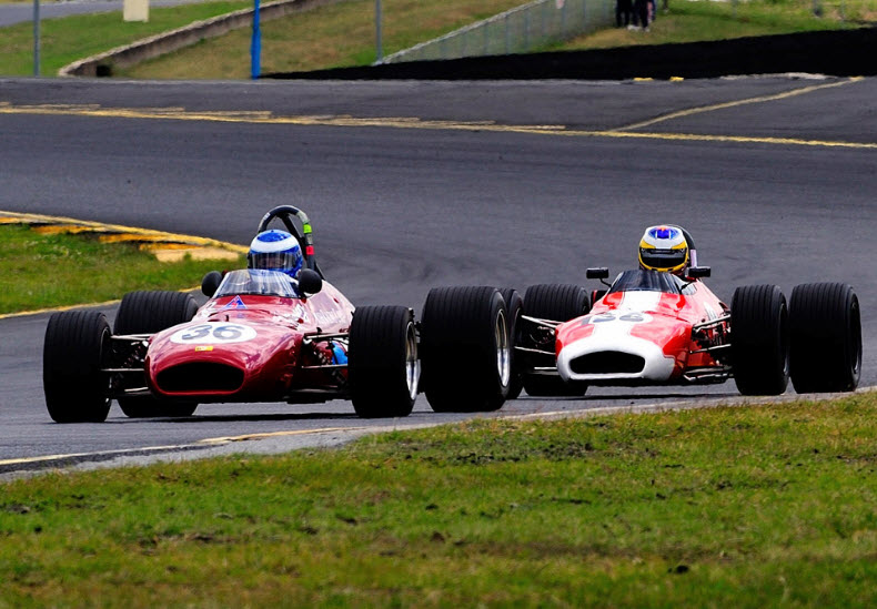 Racing at the HSRCA Summer Festival