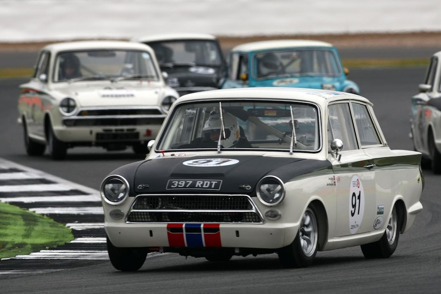 Racing at the Mondello Park Historic Festival