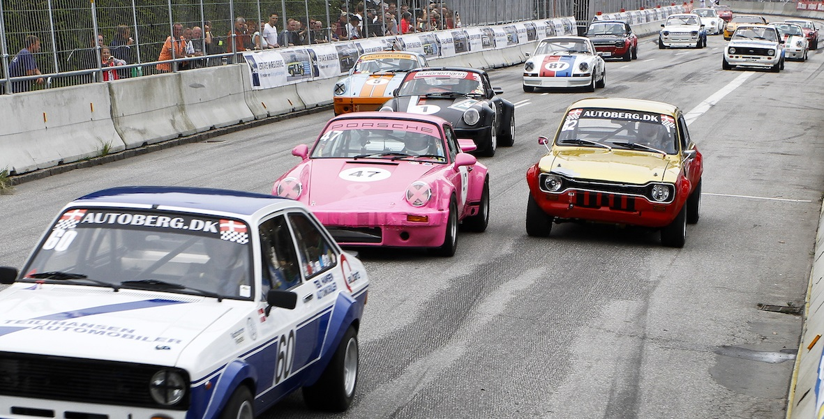 Historic racing at the Copenhagen Historic Grand Prix