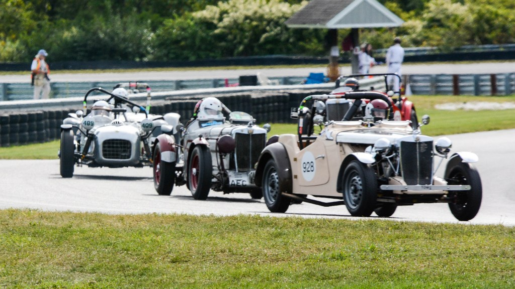 Vintage racing at the Lime Rock Historic Festival
