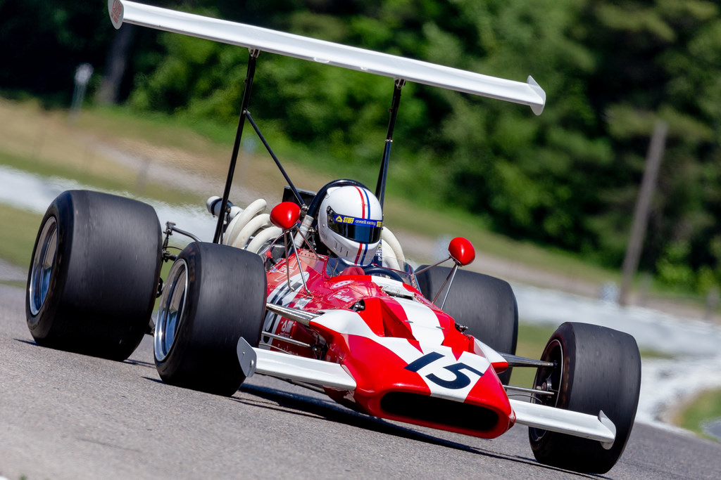 Racing at the VARAC Vintage Grand Prix