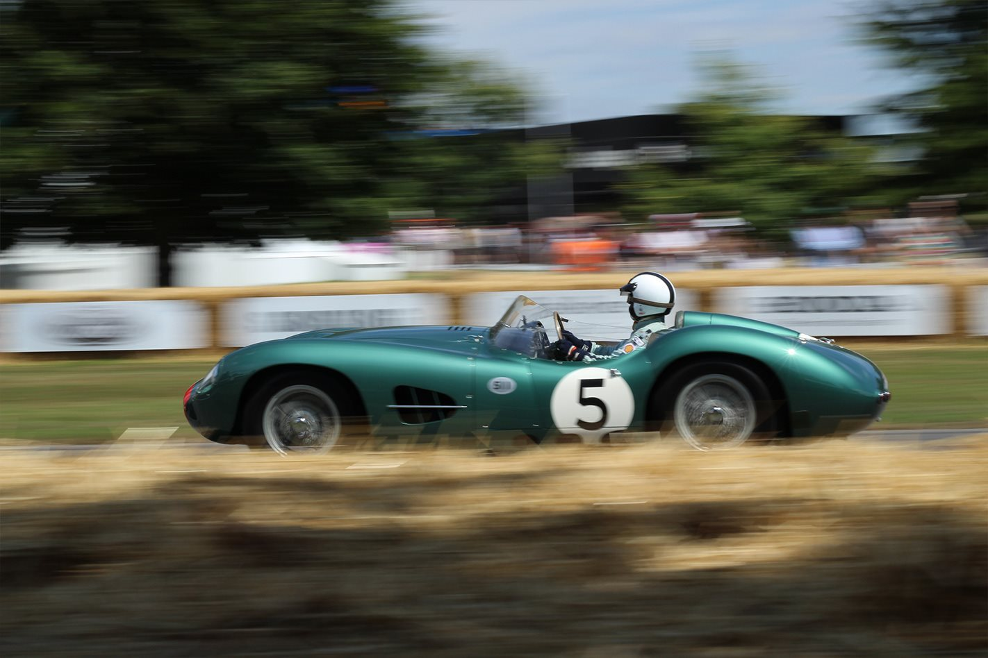 Aston Martin DBR1 at the Goodwood Festival of Speed