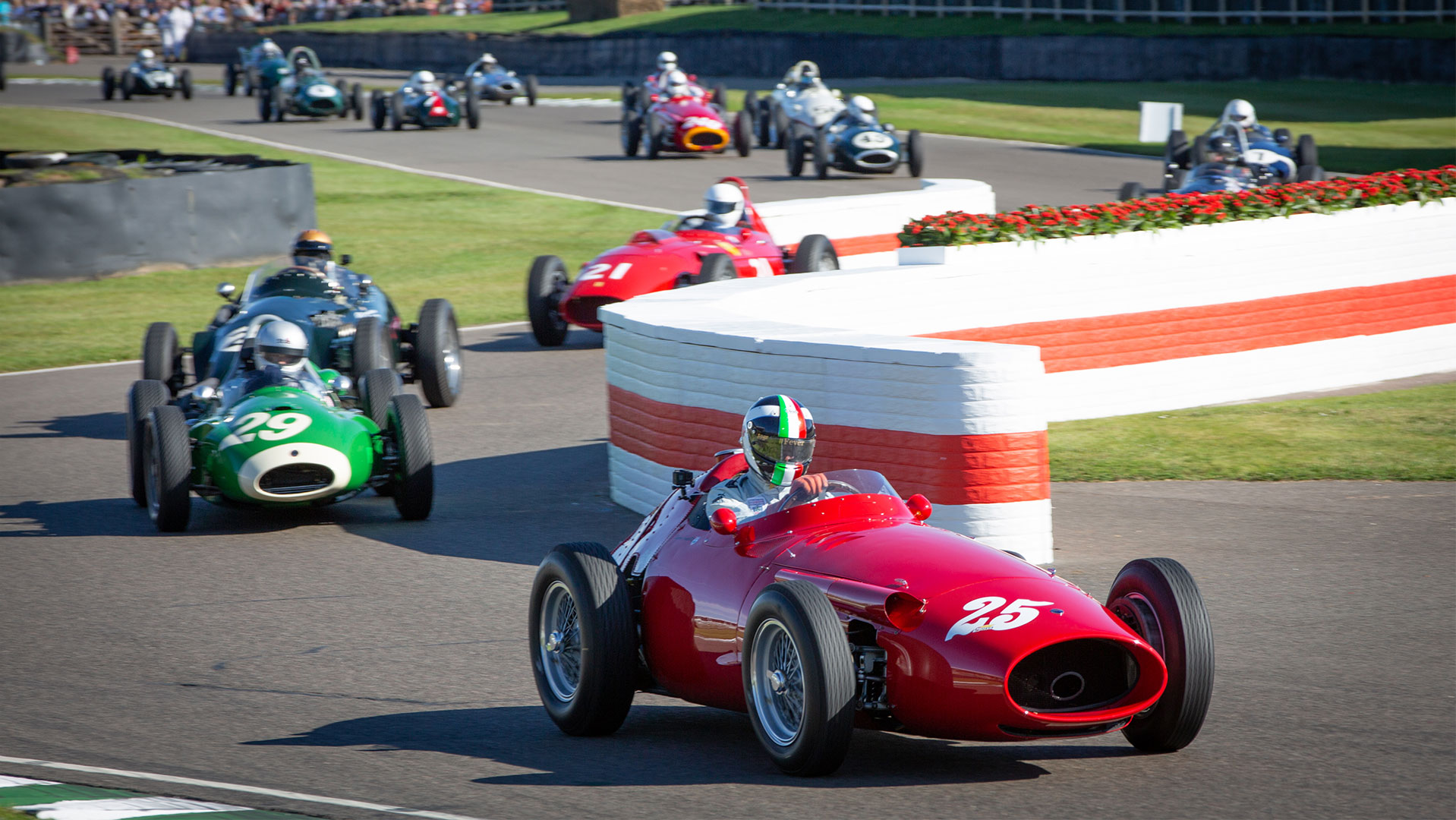 Historic racing at the Goodwood Revival