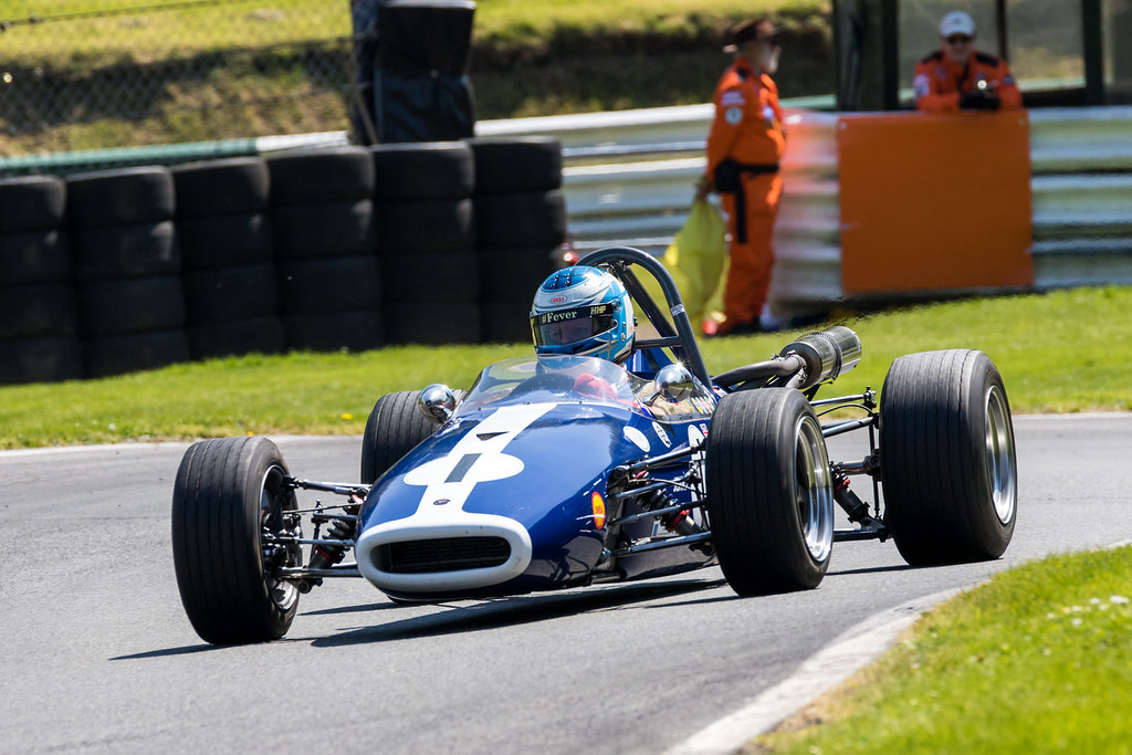 Historic Formula 3 racing features at the Cadwell Park Classic and Modern Motorsport Races