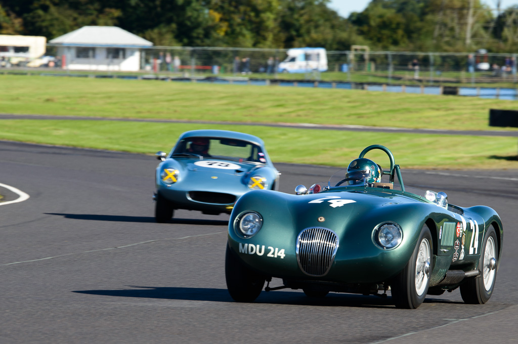 Historic racing at the Castle Combe Autumn Classic Racing Festival