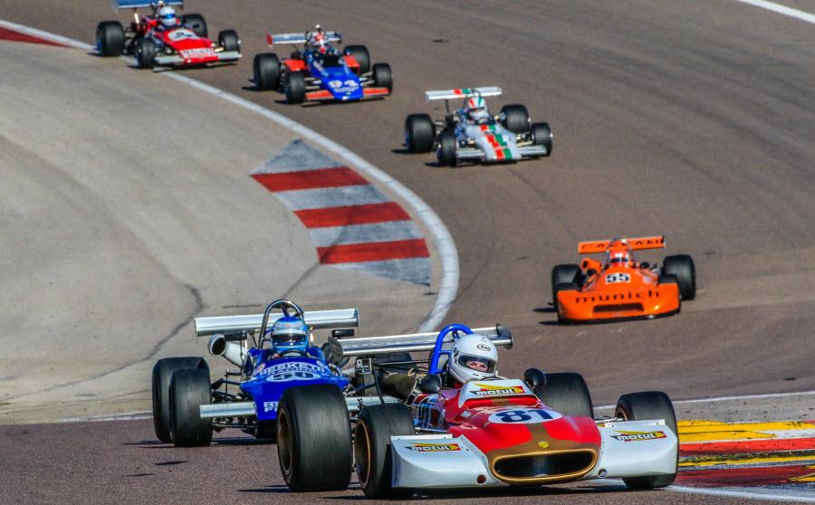 Historic racing at the Dijon Motors Cup