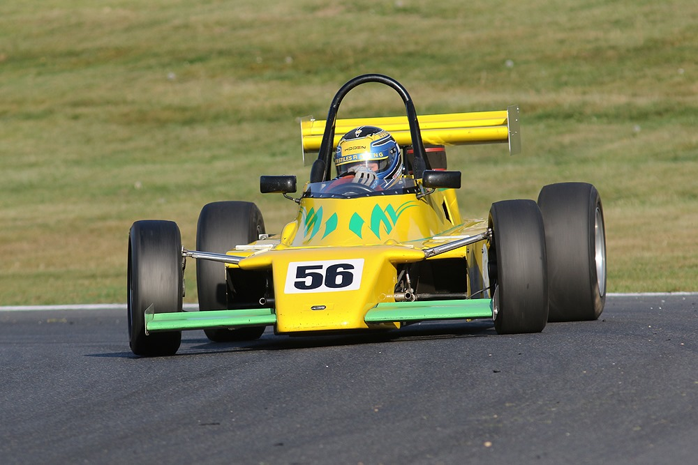 Formula Ford 2000 features at the British Racing and Sports Car Club event at Anglesey