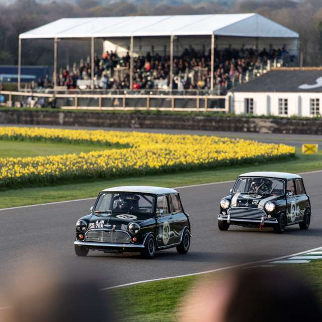 Historic racing at the Goodwood Member's Meeting
