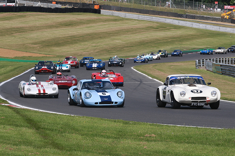 Historic racing features at the HSCC Pembrey event