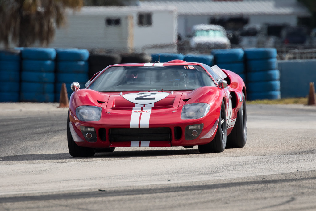 Historic sportscar racing features at the HSR Sebring Spring Fling