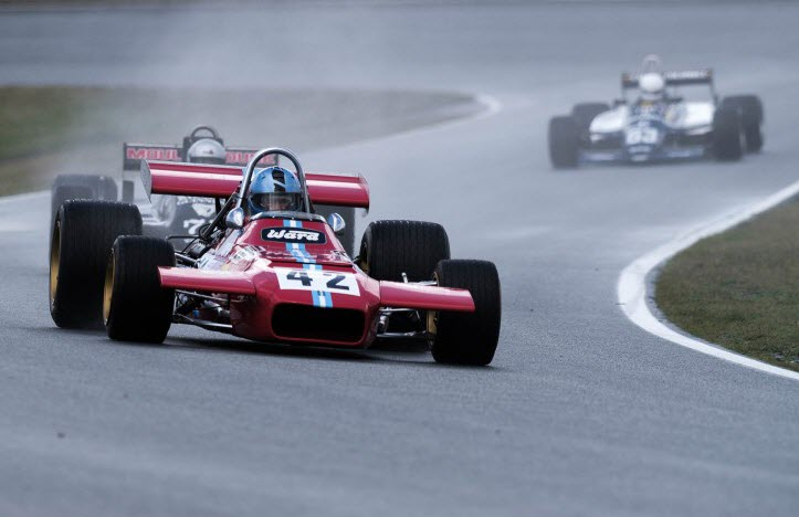 Formula One racing features at the Historic Grand Prix at Zandvoort