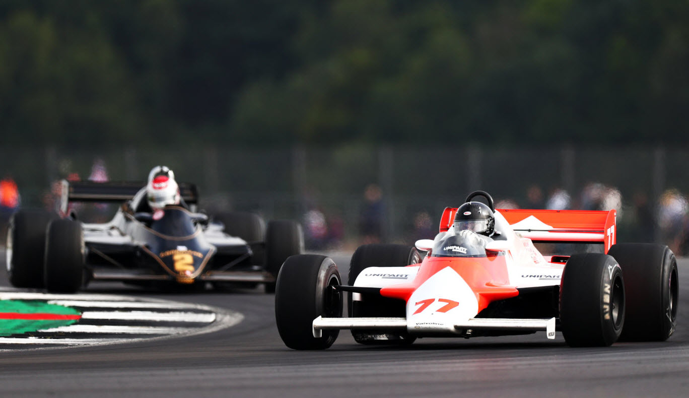 Formula One features at the Historic Grand Prix at Zolder