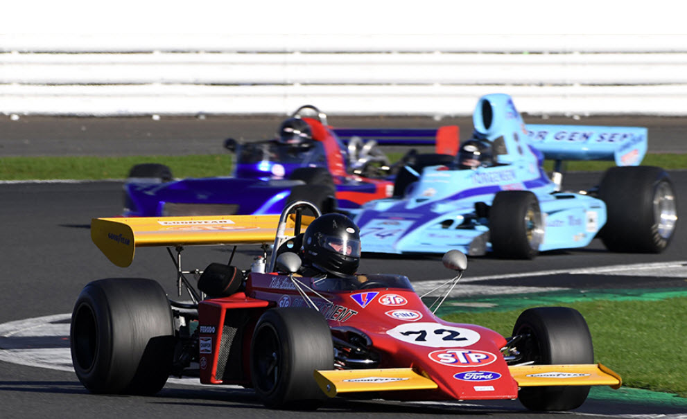 Historic racing at the Silverstone International Trophy