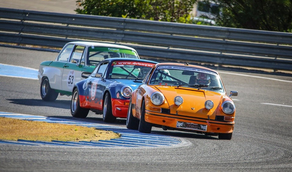 Racing at the Jerez Historic Festival