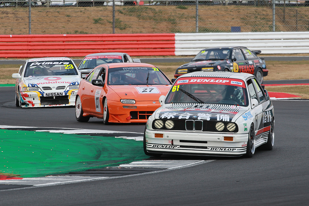 Historic touring cars feature at the Knockhill Saloon Car Festival