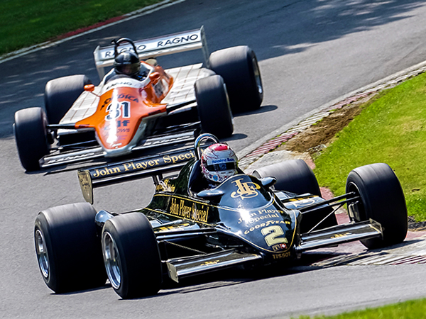 F1 action headlines the Masters Historic Festival