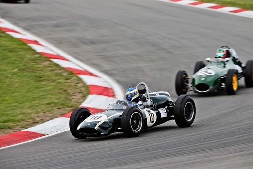 Historic racing at the AvD Oldtimer Grand Prix