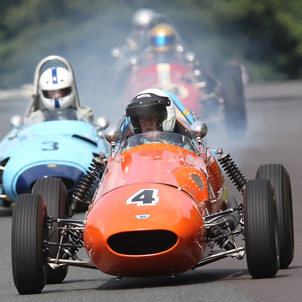 Historic racing at the Oulton Park Gold cup