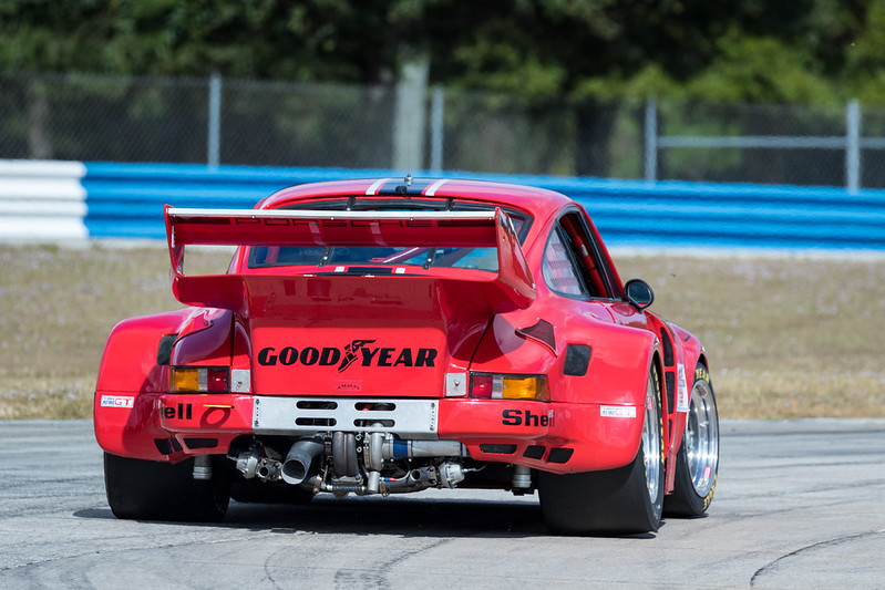 Racing at the Classic 12 Hour event at Sebring