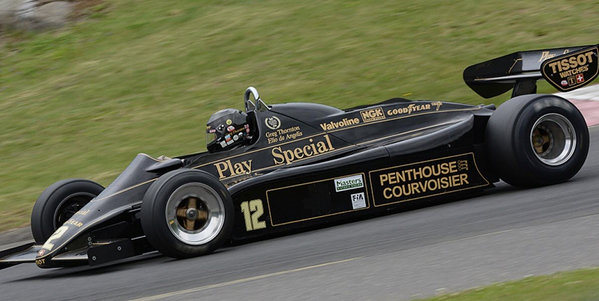 Masters F1 features at the Sommet des Legendes