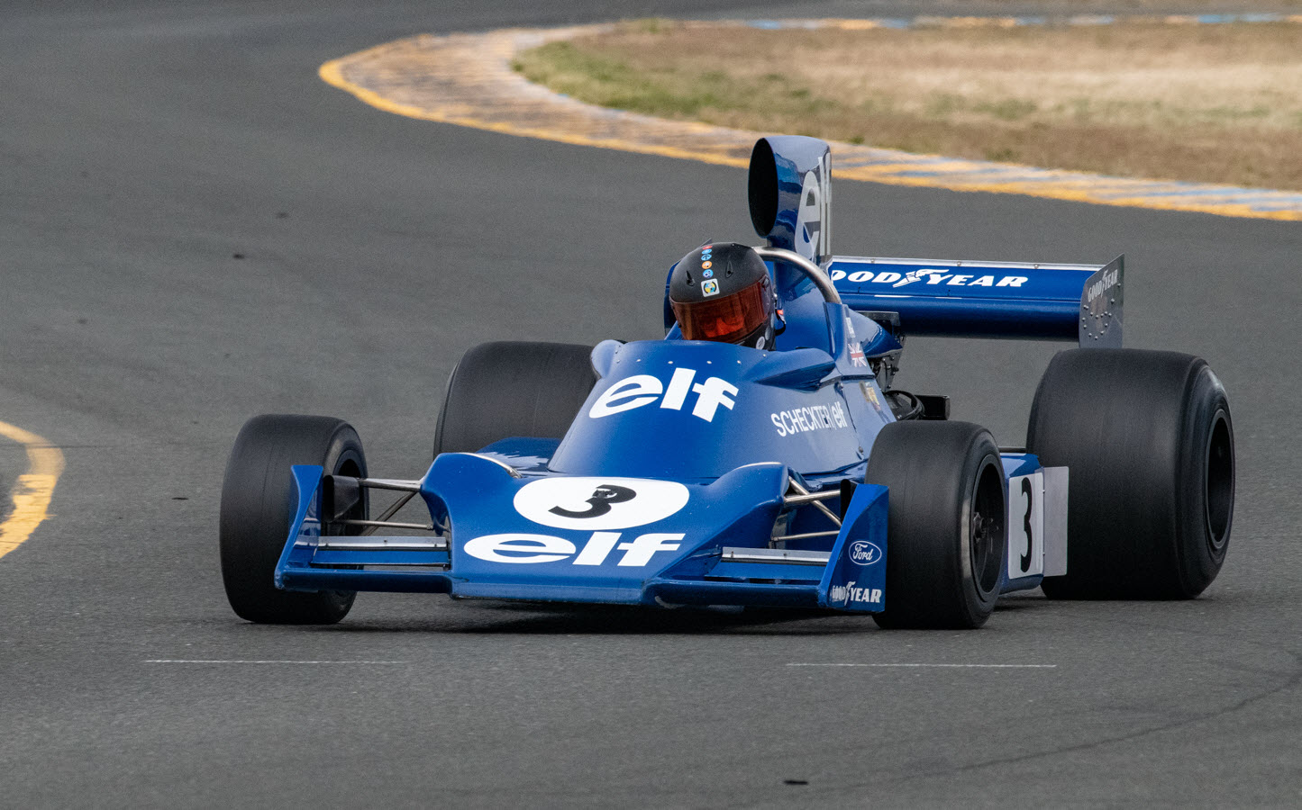 Masters historic F1 at the Sonoma Speed Festival