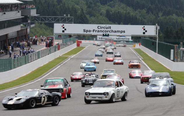Historic racing at the Spa Summer Classic