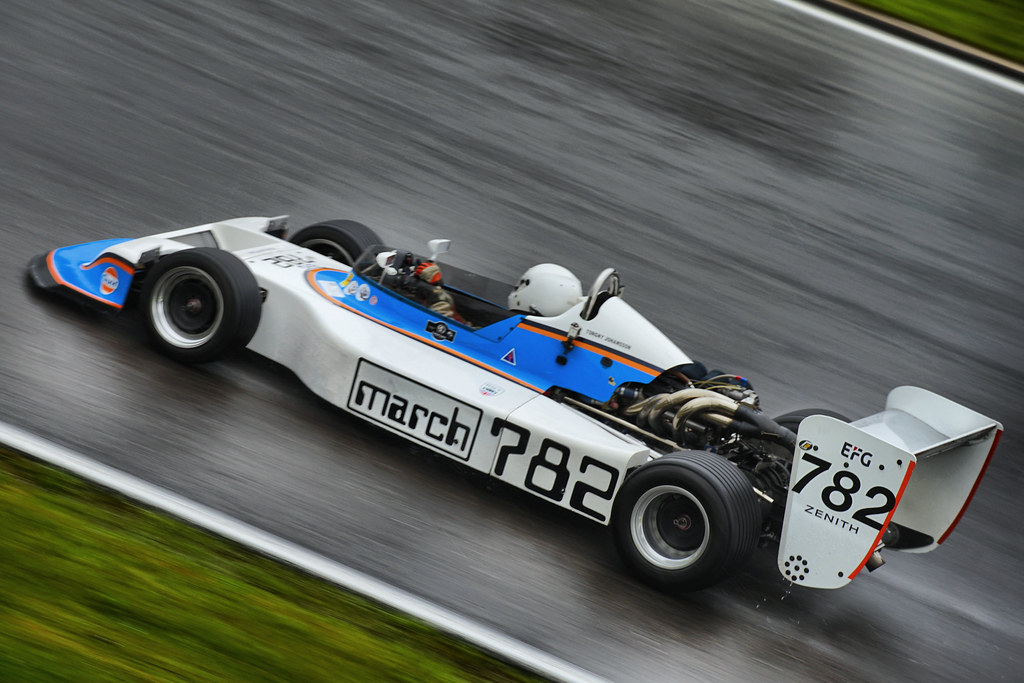 Historic Formula 2 features at the HSCC Spa event