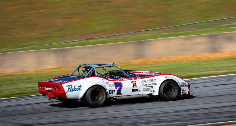 Vintage racing at The Mitty at Road Atlanta