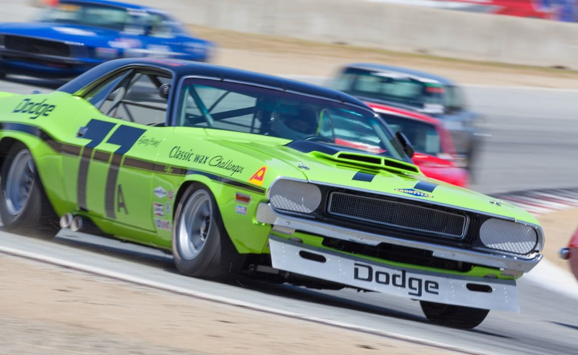 Vintage racing features at the Trans-Am Speedfest