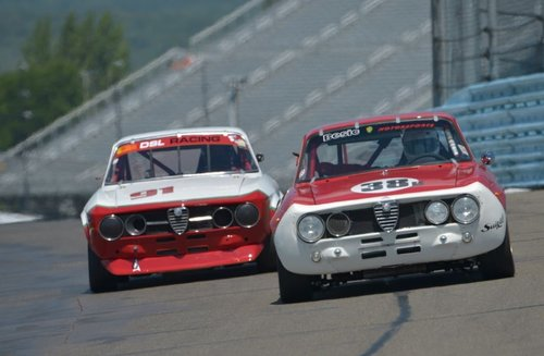 Alfa Romeo featured at the US Vintage Grand Prix