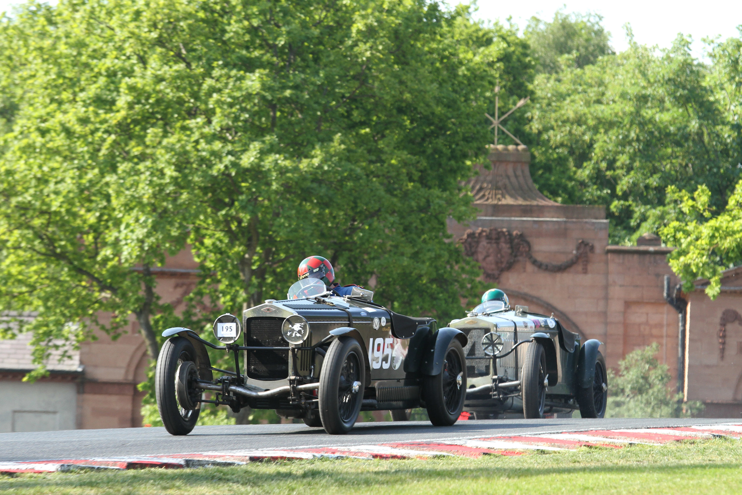 Pre-war racing features at the VSCC Formula Vintage Series meeting at Oulton Park