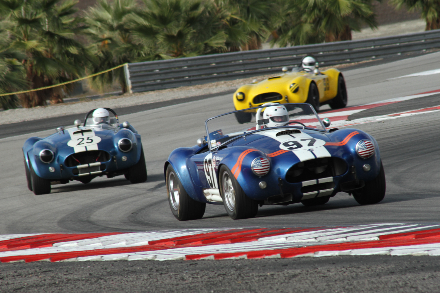 Historic racing at the Thermal Club Classic