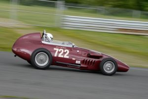 Racing at the Thompson Vintage Motorsports Festival