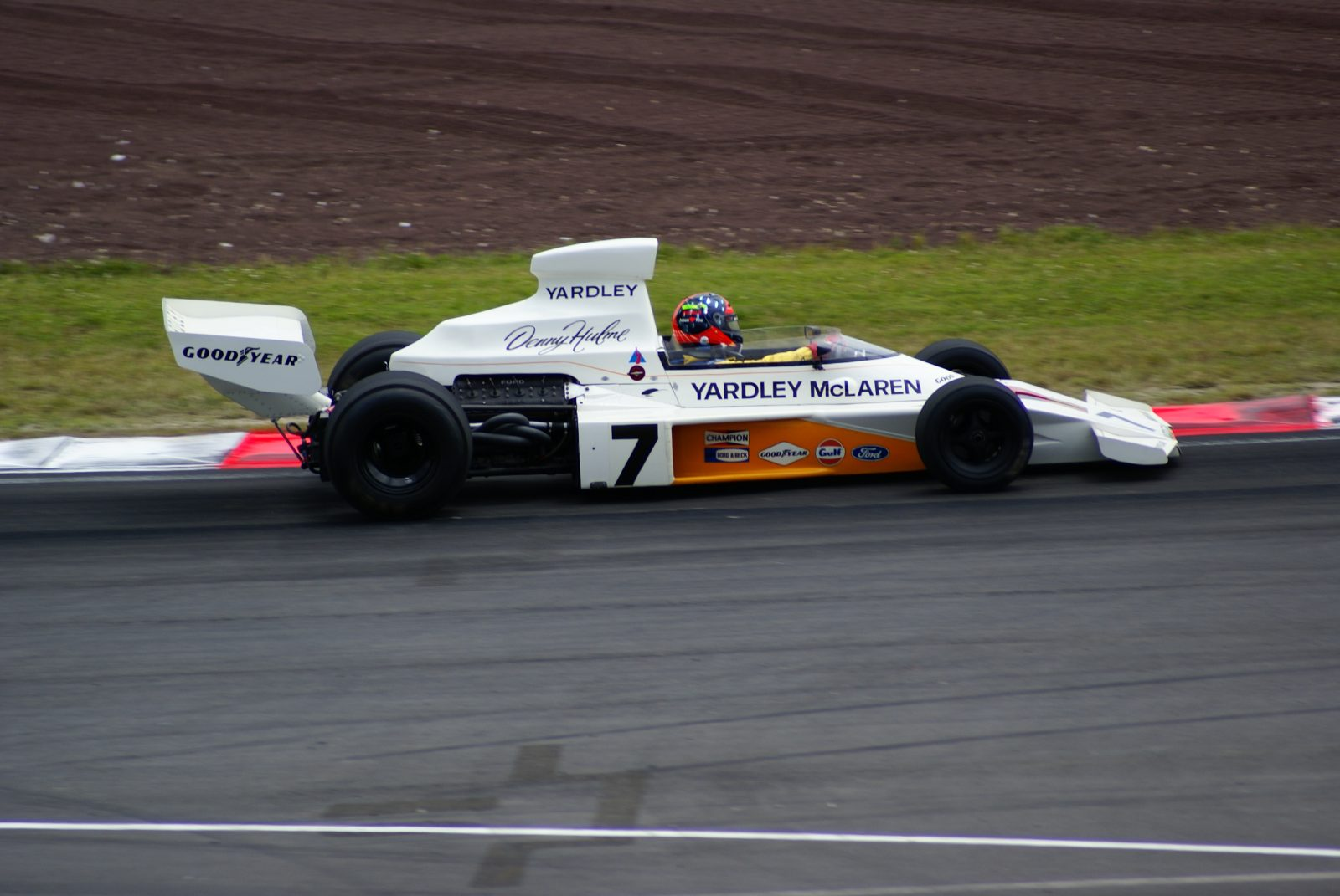 McLaren M23 expected to race at the Taupo Historic Grand Prix