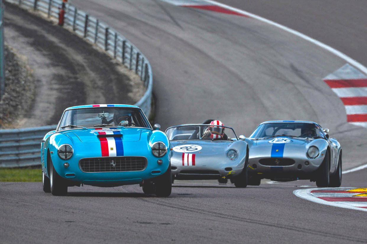 Peter Auto historic racing at the Grand Prix de l'Age d'Or at Dijon