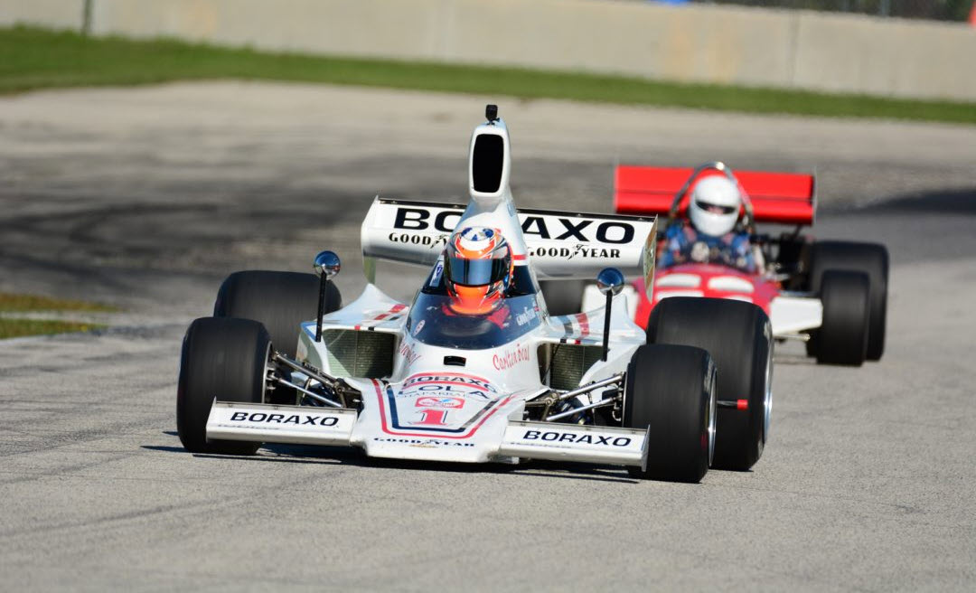 Historic racing features at the Ariens Art on Wheels Vintage Festival