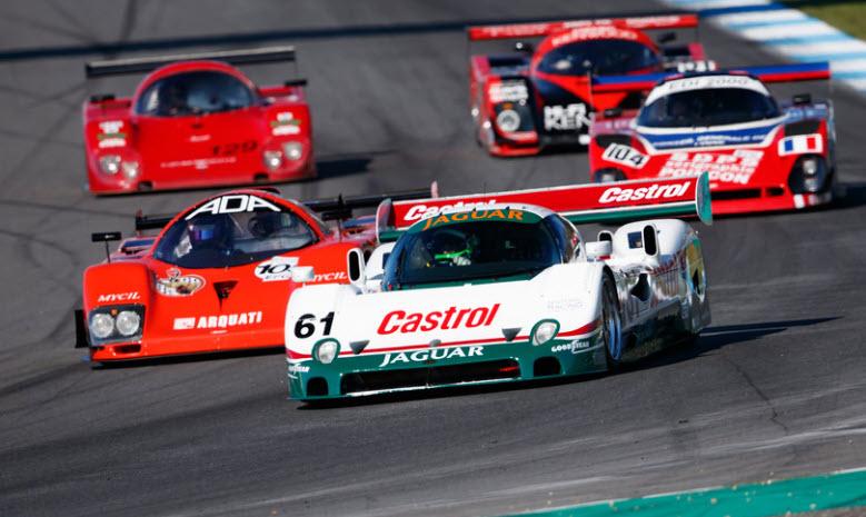 Historic sportscar racing at the Estoril Classics event