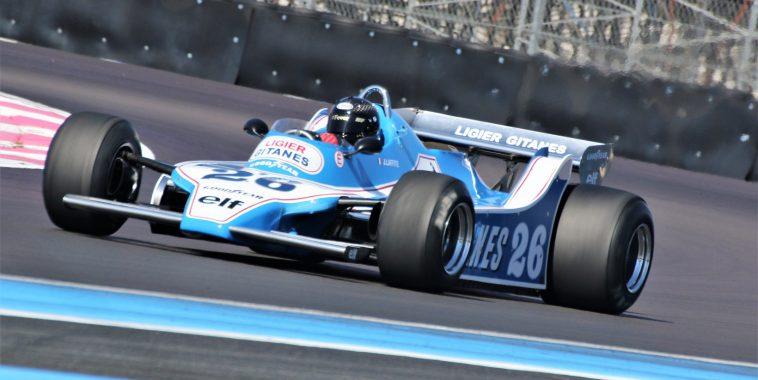 Masters F1 features at the Grand Prix de France Historique