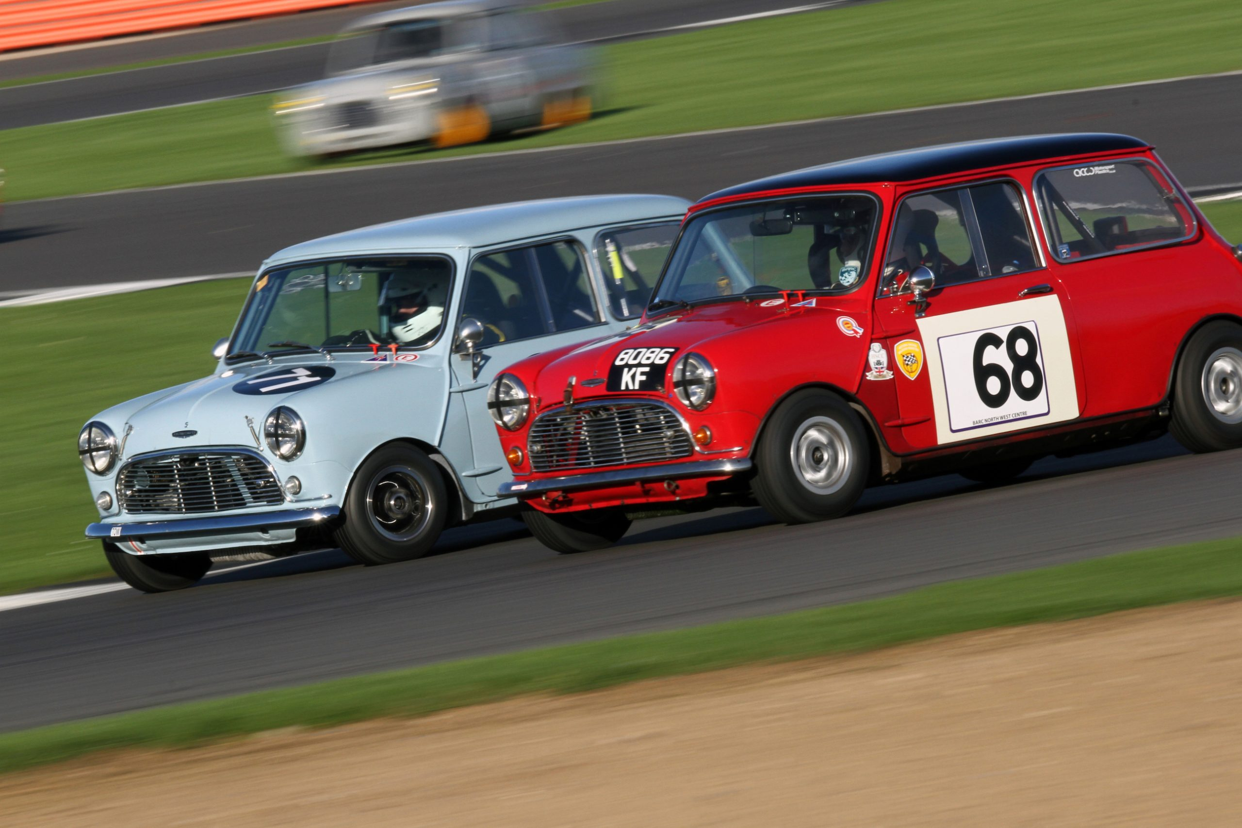 Historic racing features at the annual HSCC Silverstone Finals event