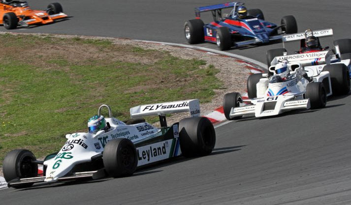 Masters Formula One features at the Historic Grand Prix Zandvoort