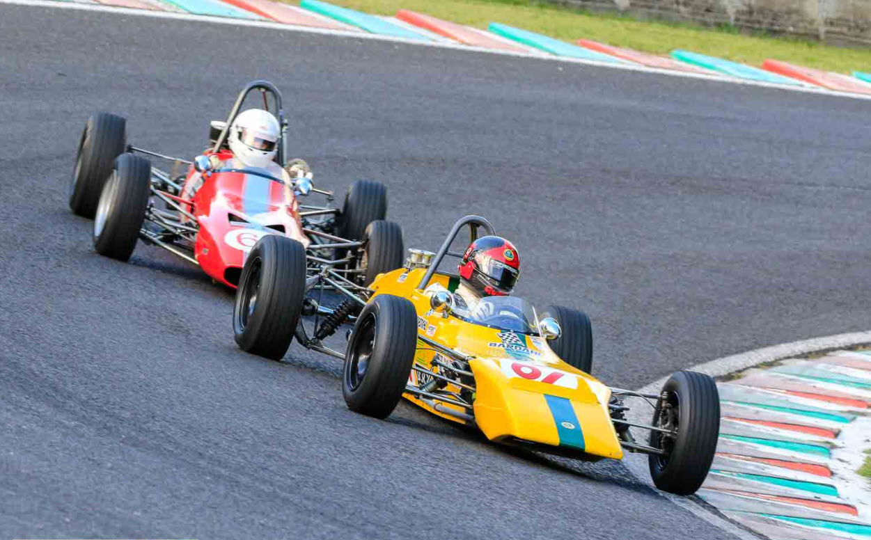 Classic F3 racing at the Historic Tour Charade