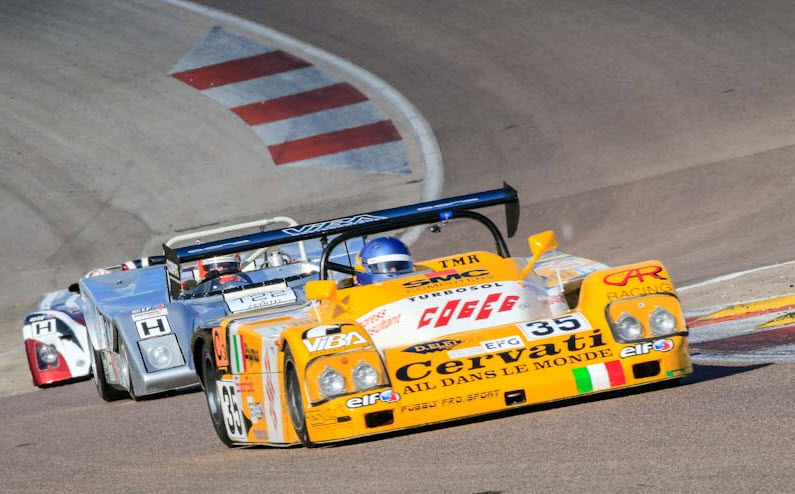 Sports prototype racing at the Historic Tour Dijon