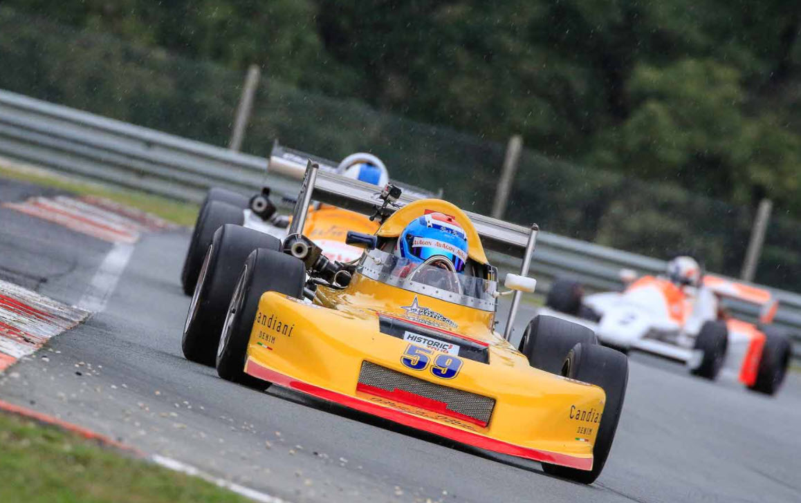 Classic Formula 3 racing at the Historic Tour Val de Vienne